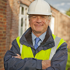 hard hat construction worker