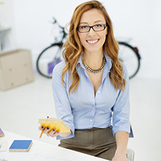 female interior designer testimonial
